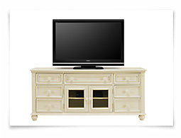 """Claire White 72"""" TV Stand"""