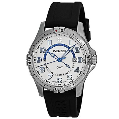 Wenger Squadron GMT White (Men's)