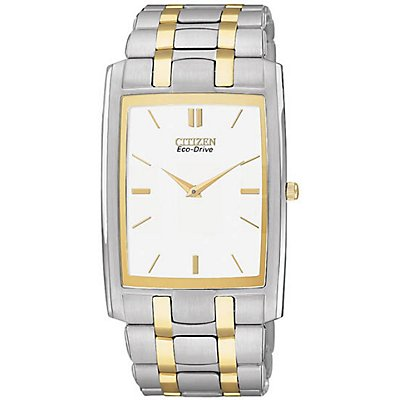 Citizen Eco-Drive Stiletto Rectangle (Men's)
