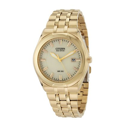 Citizen Eco-Drive Corso Gold Tone (Men's)
