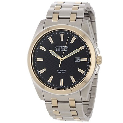 Citizen Eco-Drive Corso Black Dial (Men's)