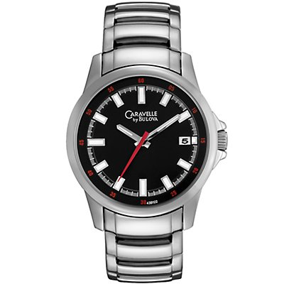 Caravelle Sport Black Dial (Men's)