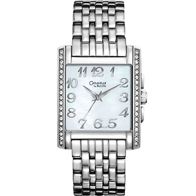 Caravelle Mother of Pearl Crystal (Women's)