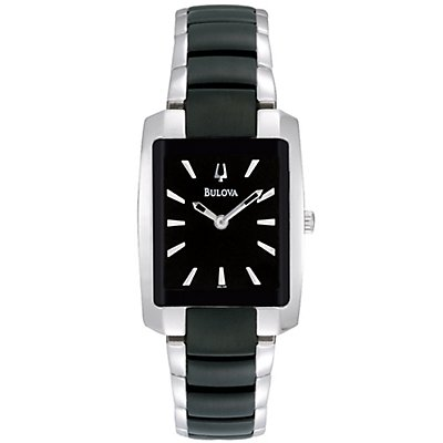 Bulova Dress Black Ion Plated (Women's)