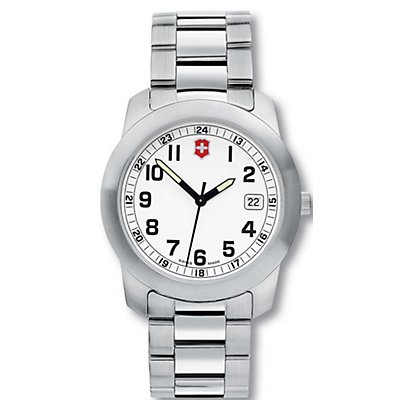 Victorinox Field SS White Dial (Men's)