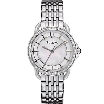 Bulova Diamond Mother of Pearl Dial (Women's)