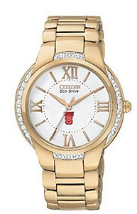 Citizen Gold-Tone Ciena Eco-Drive 20 Diamonds (Women's)