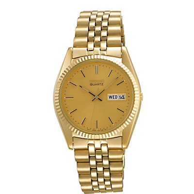 Seiko Gold Tone Day Date (Men's)