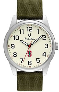 Bulova Cream Dial Canvas Strap (Men's)