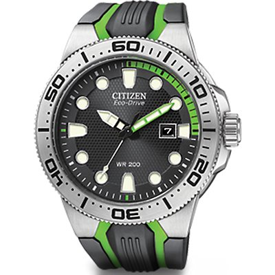 Citizen Eco-Drive Scuba Fin Diver Green (Men's)