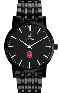 Bulova Thin Case Black Dial (Men's)