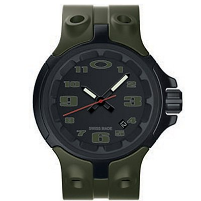 Oakley Bottle Cap Green on Black (Men's)