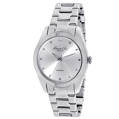 Kenneth Cole Rock Out Diamond Silver Dial (Women's)