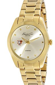 Kenneth Cole Rock Out Diamond Gold Dial (Women's)