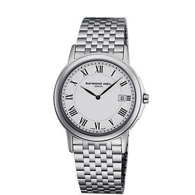 Raymond Weil Tradition White Dial SS (Men's)