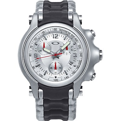 Oakley Holeshot Chrono Light SIlver SS Rubber (Men's)