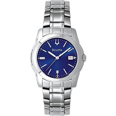 Bulova SS Blue Date (Men's)