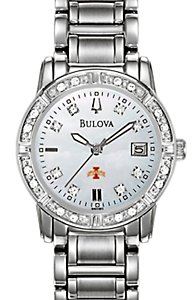 Bulova MOP Diamond SS (Women's)