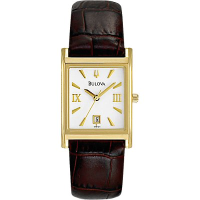 Bulova Brown Leather (Women's)