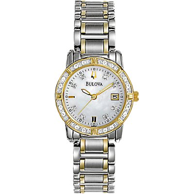 Bulova Two-Tone Diamond (Women's)