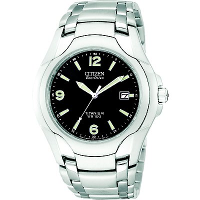 Citizen Eco-Drive 180 Black SS (Men's)
