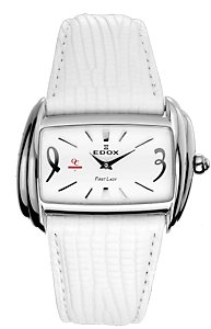 Edox First Lady White SS (Women's)