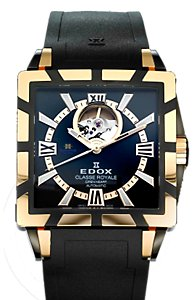 Edox Classe Royale Open Heart (Men's)