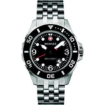 Wenger AquaGraph Deep Diver Black (Men's)