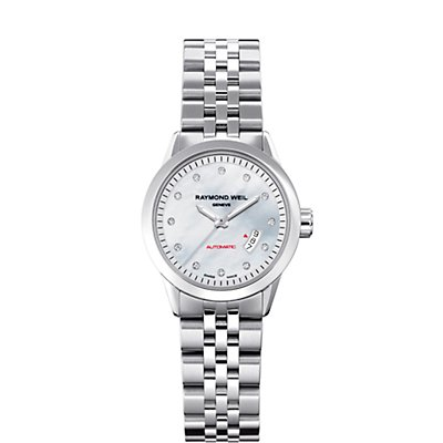 Raymond Weil Freelancer MOP 8 Diamonds (Women's) - not engravable