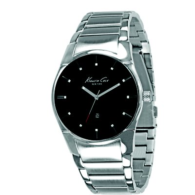 Kenneth Cole Stainless Steel Black (Men's)