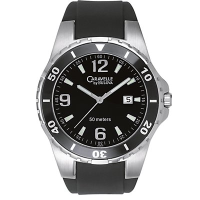 Caravelle Black Rubber (Men's)