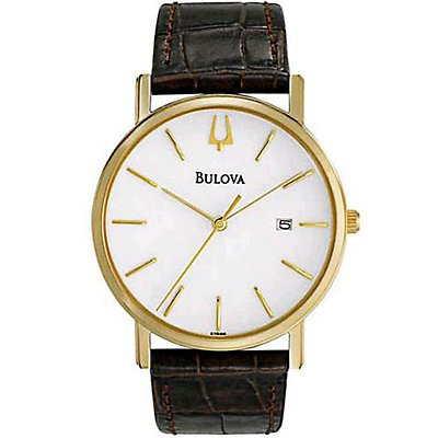 Bulova Brown Leather Strap (Men's)