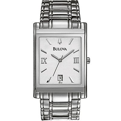 Bulova SS Square Date (Men's)
