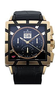 Edox Classe Royale Chronograph Automatic Black (Men's)