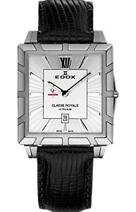 Edox Classe Royale Ultra Slim Silver (Men's)