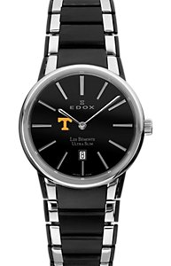 Edox Les Bémonts Ultra Slim Black (Men's)