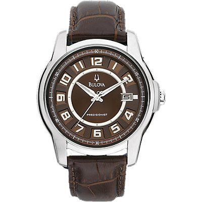 Bulova Precisionist Claremont Brown Leather (Men's)