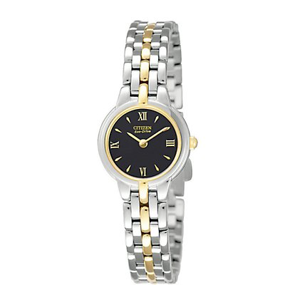 Citizen Eco-Drive Silhouette Two-Tone (Women's)