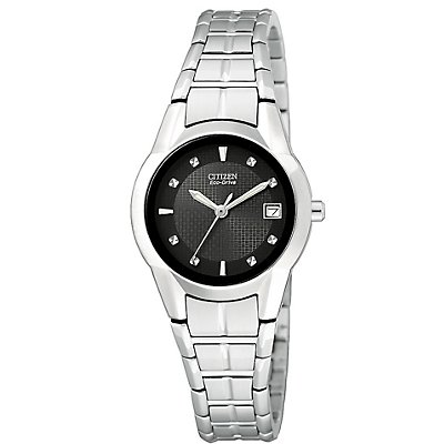 Citizen Eco-Drive Date SS (Women's)