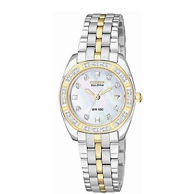 Citizen Paladion Eco-Drive Two-Tone (Women's)