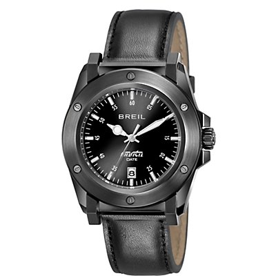 Breil Manta Black IP (Men's)