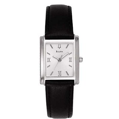 Bulova Silver Rectangle (Women's)