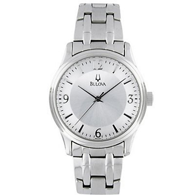 Bulova Stainless Steel Round (Men's)