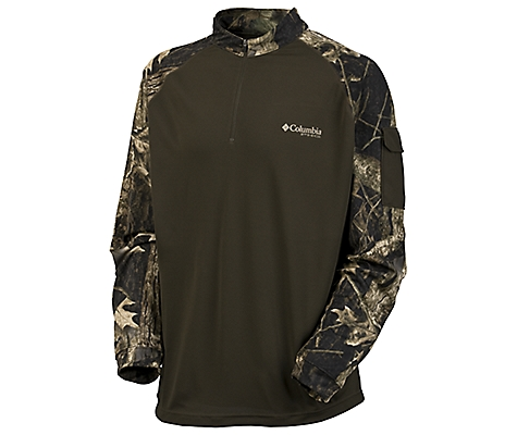 photo: Columbia Full Draw Quarter Zip long sleeve performance top