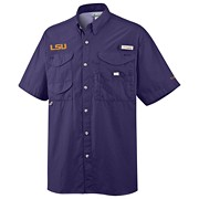 Men's Collegiate Bonehead™ Short Sleeve Shirt - LSU