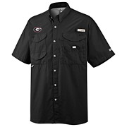 Men's Collegiate Bonehead™ Short Sleeve Shirt - Georgia