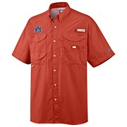 Men's Collegiate Bonehead™ Short Sleeve Shirt - Auburn