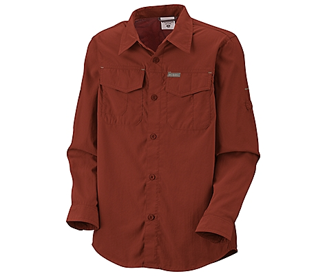 photo: Columbia Boys' Silver Ridge II Long Sleeve Shirt