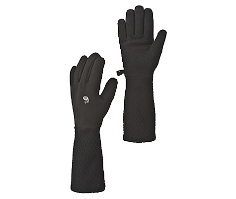 photo: Mountain Hardwear Deva Glove fleece glove/mitten
