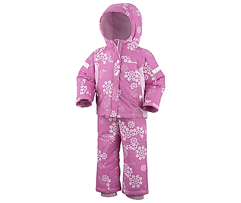 photo: Columbia Ella Graceful Set kids' snowsuit/bunting